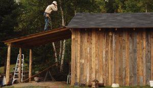 repurposed chicken coop