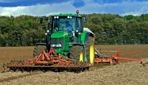 seed drill tractor