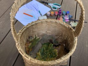 leaf activities for toddlers