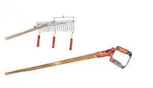 rake and hoe