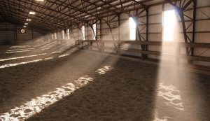 barn ventilation livestock winter