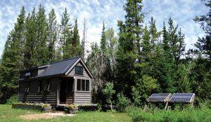 tiny house solar energy