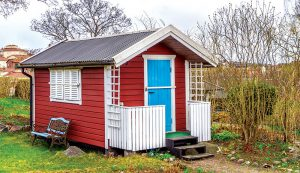 tiny house shed conversion