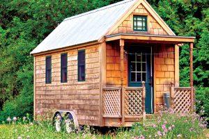 tiny house towable wheels