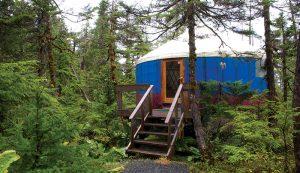 tiny house yurt