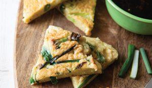 Recipe: Korean-Style Savory Scallion Pancake