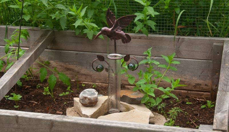 farm rain gauge