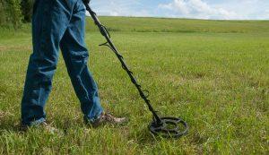 metal detector farm farming