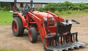 compact tractor history