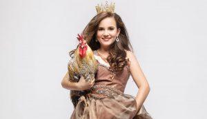 4-H chickens