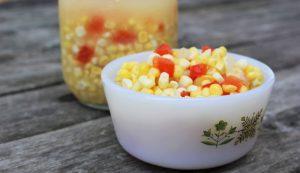 fermented corn