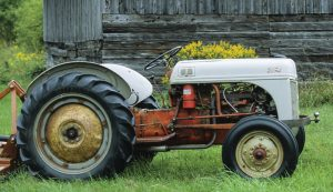 old tractor history