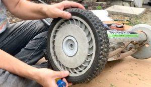 reel lawn mower maintenance