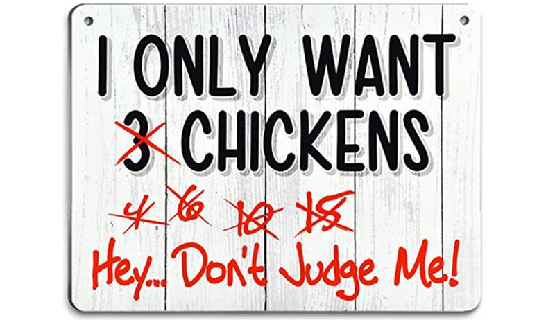 chicken presents
