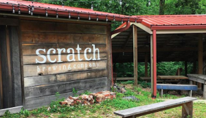 Scratch Brewing Company foraged foraging beers