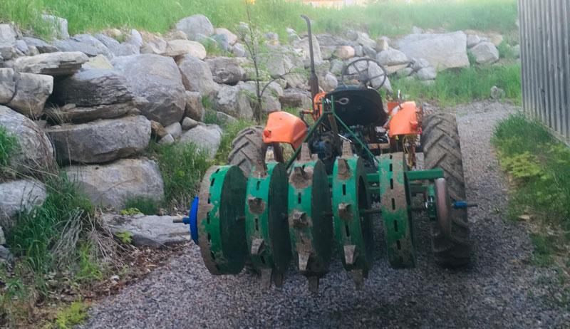 water wheel dibbler