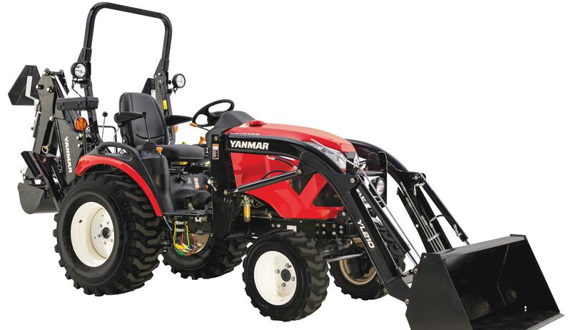 tractor terms bucket Yanmar