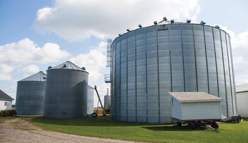 modern metal silos silos