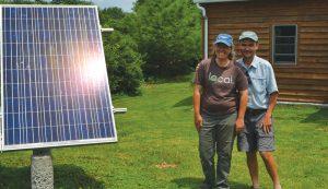 solar panels cedar ring greens