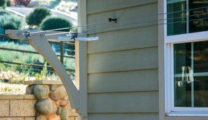 clothesline line-dry bracket