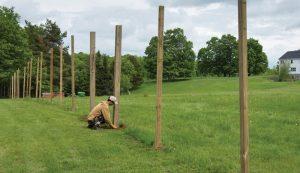 posthole digging postholes