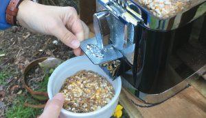 chicken gumball feeder