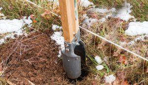 posthole digging postholes handheld