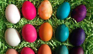 hard-boiled eggs Easter