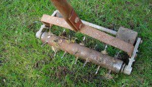 lawn aerator manual spike