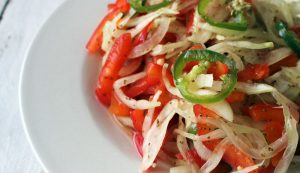 fermented onion pepper relish