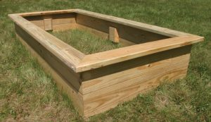 raised bed garden build