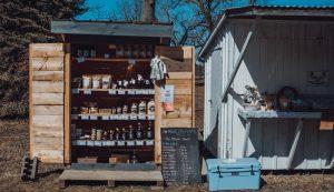 roadside stand stands farm market