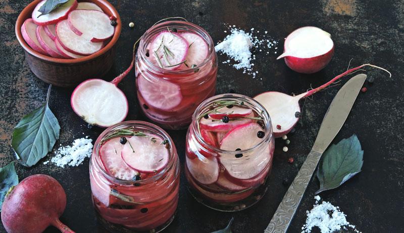 fermented radishes radish