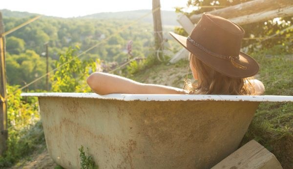 These Herbal Bath & Body Products Bring The Garden To The Tub