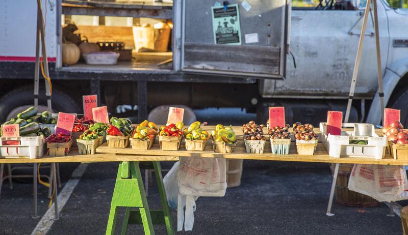farmers markets visit a farmers market