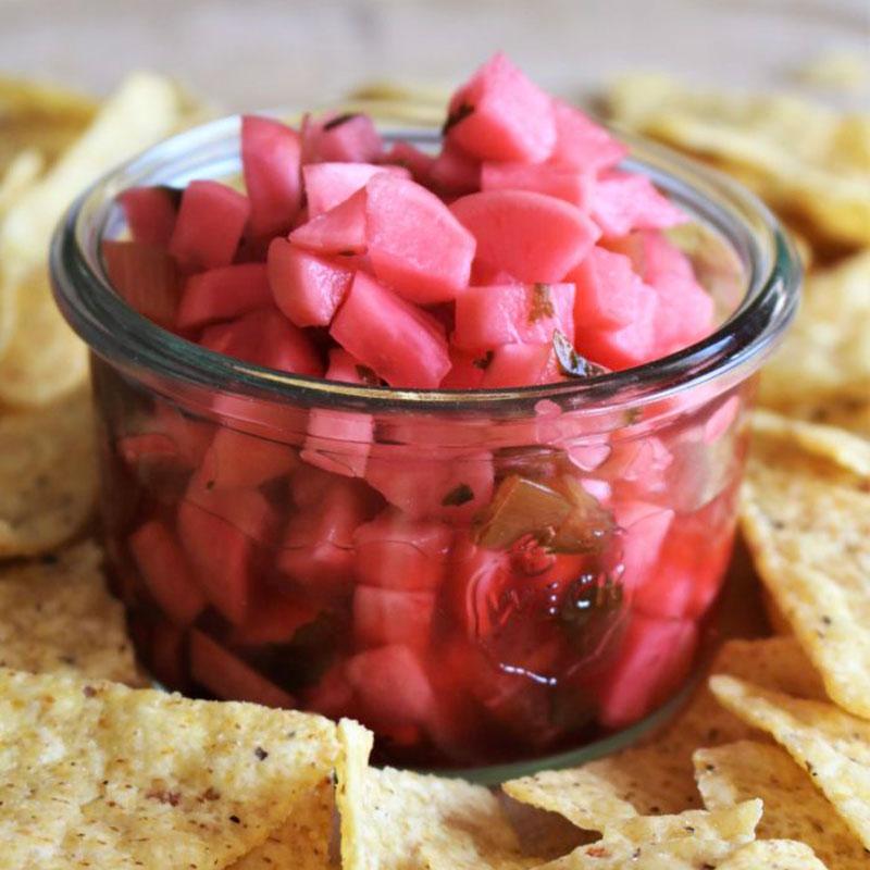 fermented radish salsa