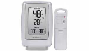 Indoor/Outdoor Thermometer and Humidity Sensor, season extenders
