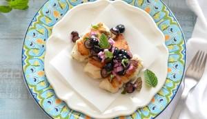 blueberry ginger salsa