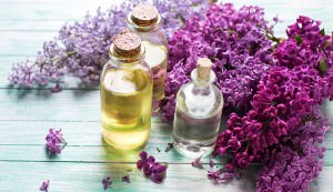 lilac oil and lilac facial toner