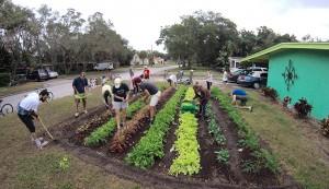 Fleet Farming is an urban gardening project in Orlando, Fla.