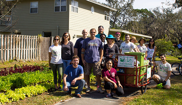 More than 300 volunteers have participated in Fleet Farming's Swarms.