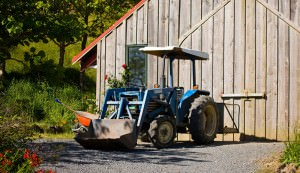 spring cleaning farm equipment