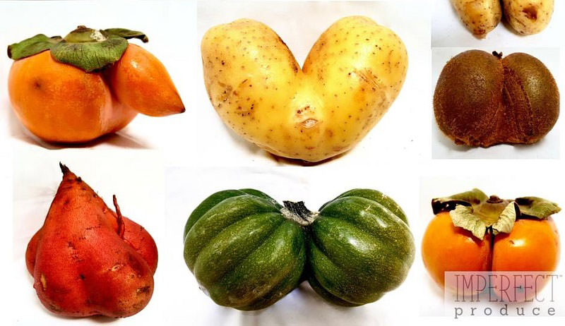 imperfect fruits and vegetables