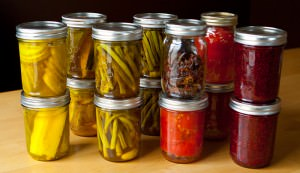 home canned food canning