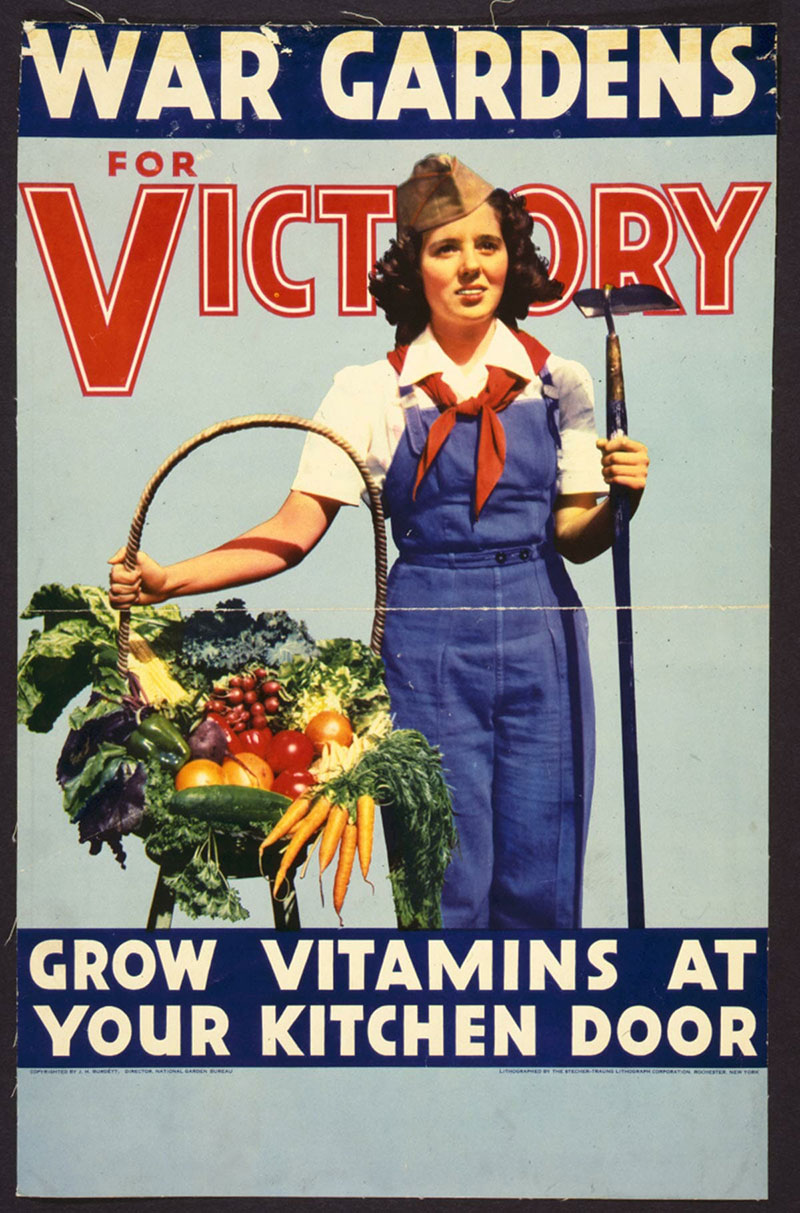 victory gardens poster