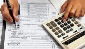 Filling 1040 tax form