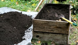 Use these ingredients to mix your own nutritious potting soil for your container garden.
