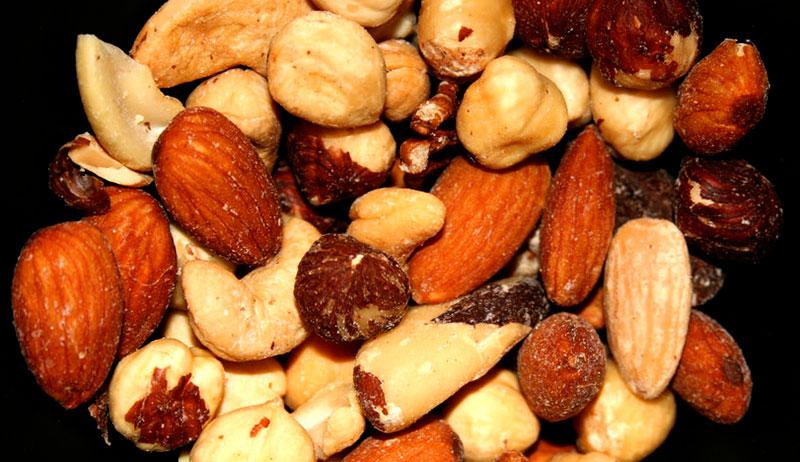 nuts grow farm