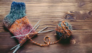 knitted craft