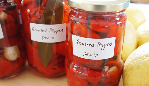 preserved peppers